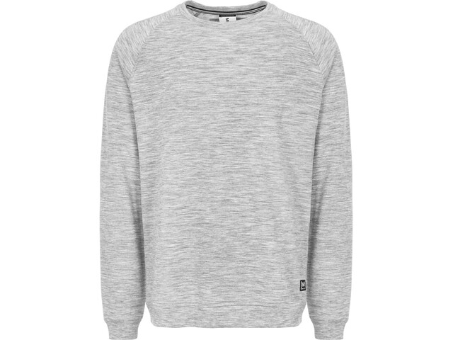 super.natural Essential Raglan Crew Sweater Herr ash melange